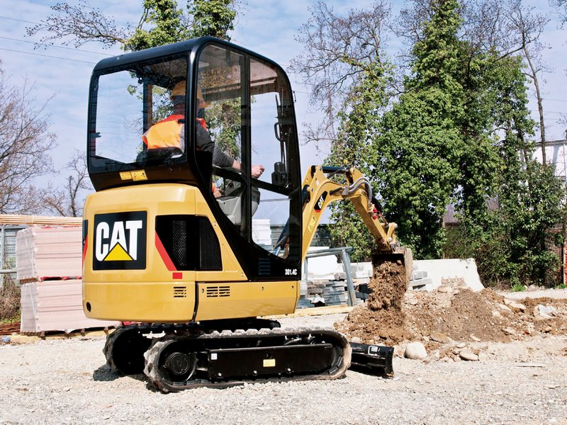 MiniExcavator Caterpillar 301.6 second hand
