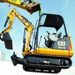MiniExcavator Caterpillar 301.7 second hand
