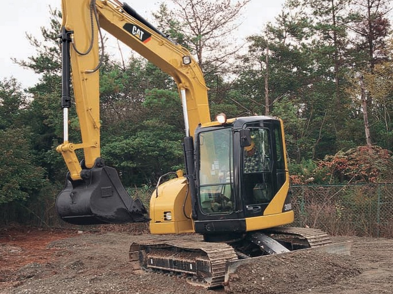 MiniExcavator Caterpillar 308 second hand