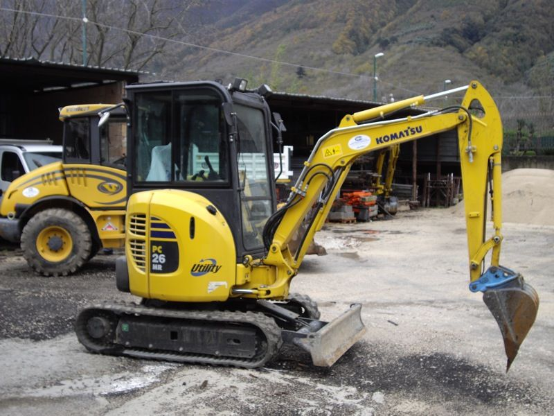 MiniExcavator Komatsu PC26MR second hand