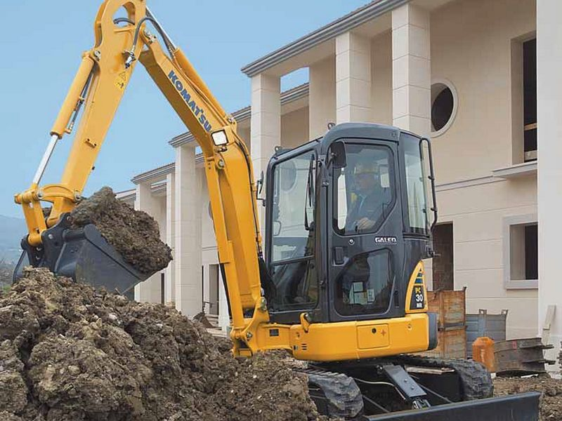 MiniExcavator Komatsu PC30MR second hand