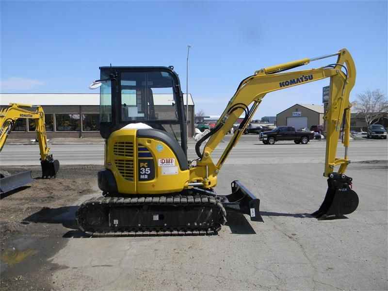 MiniExcavator Komatsu PC35MR second hand