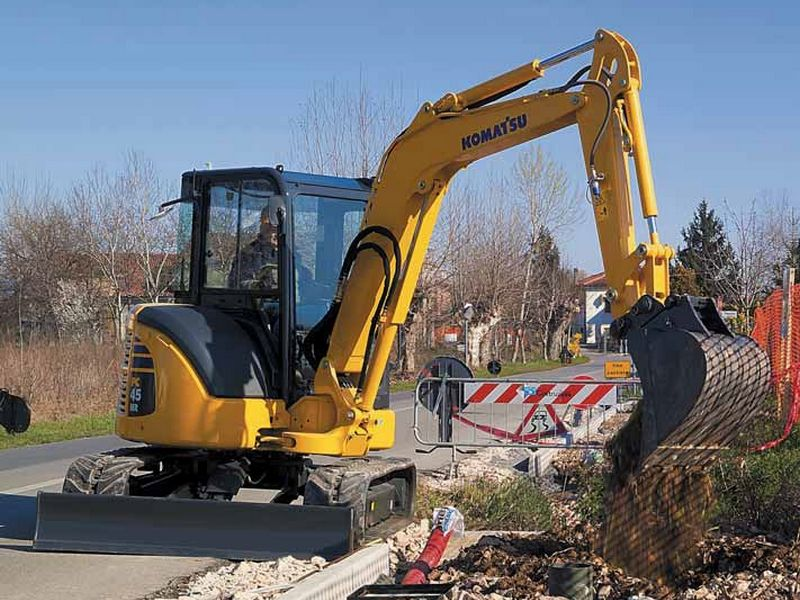 MiniExcavator Komatsu PC45MR second hand