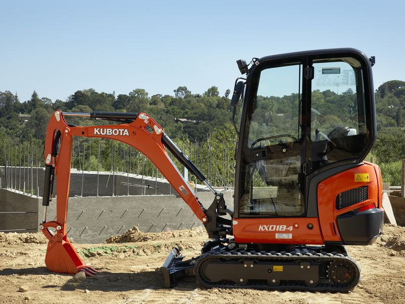 excavatoare mini kubota kx 018 dealer
