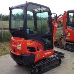 excavator mini kubota kx 016 second hand