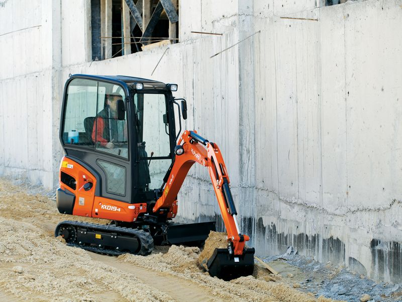 excavator mini kubota kx 019 second hand