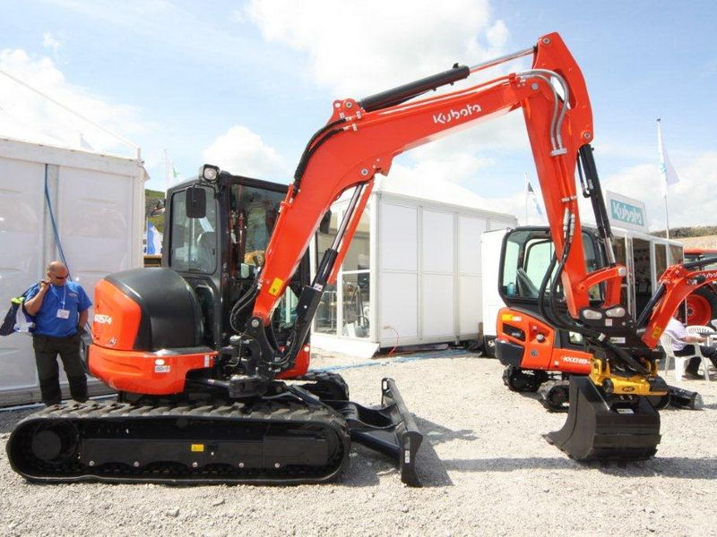 excavator mini kubota kx 057 second hand
