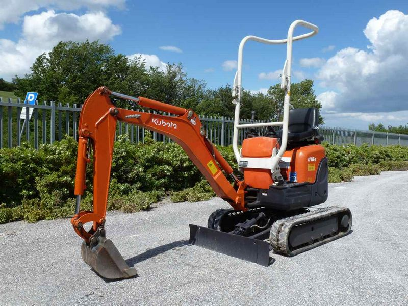 excavator mini kubota u 10 second hand