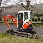 excavator mini kubota u 25 second hand