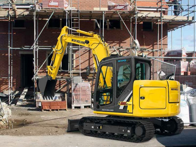 Excavatoare midi New Holland E 85 second hand