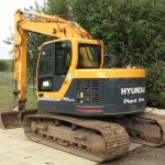 Excavatoare mini Hyundai R 145 second hand