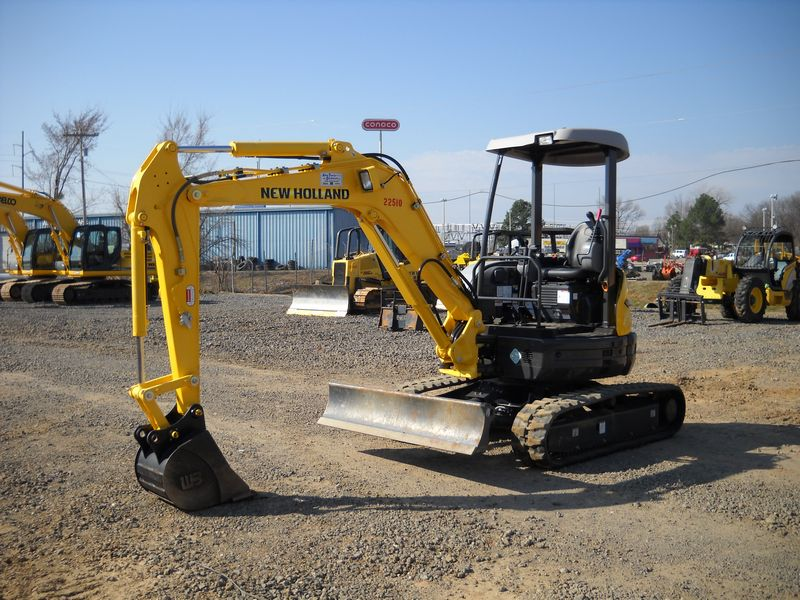 Excavatoare mini New Holland E 35 nou