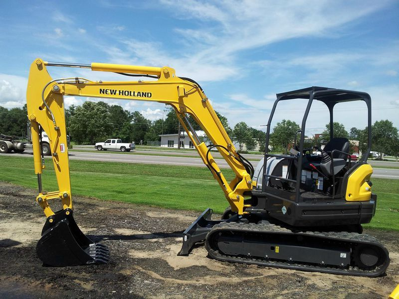 Excavatoare mini New Holland E 55 dealer
