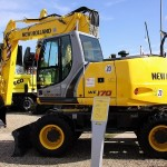 Excavatoare pe roti New Holland WE 170 second hand
