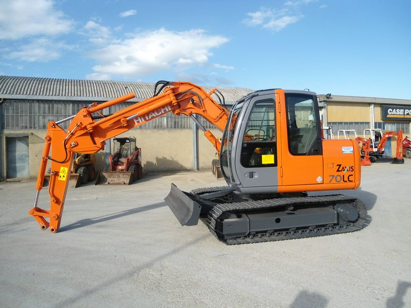 Excavator midi Hitachi ZX 70 second hand