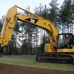 Excavator pe Senile Caterpillar 328 second hand